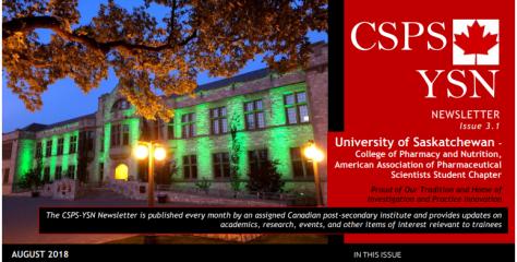 CSPS-YSN Newsletter image